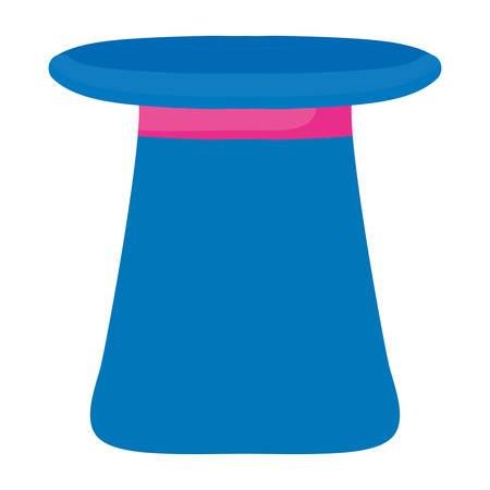 magician top hat icon vector illustration design