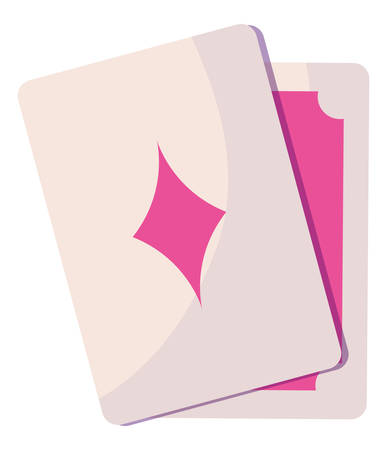 poker cards game icon vector illustration design