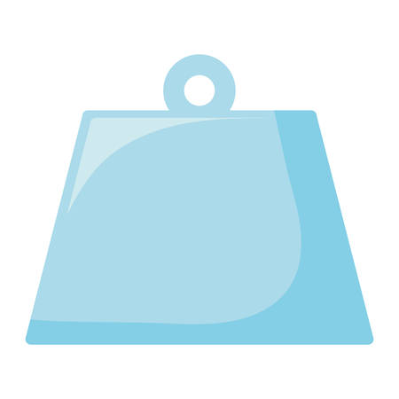 weight icon Over white background, vector illustration