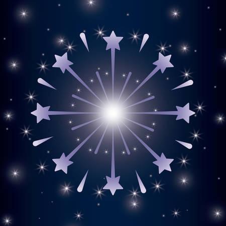 mardy gras splash lights pattern vector illustration design Stock Vector - 126349255