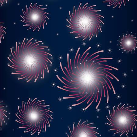 mardy gras splash lights pattern vector illustration design Stock Vector - 126349257