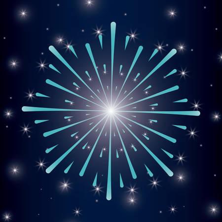 mardy gras splash lights pattern vector illustration design Stock Vector - 126349477