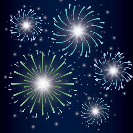 mardy gras splash lights pattern vector illustration design Stock Vector - 126349491