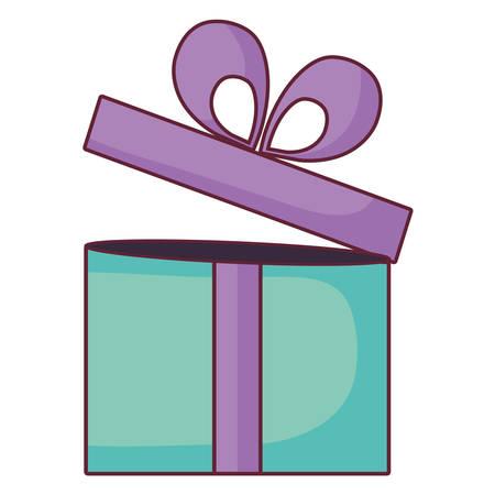 gift box present icon vector illustration design Vector Illustration