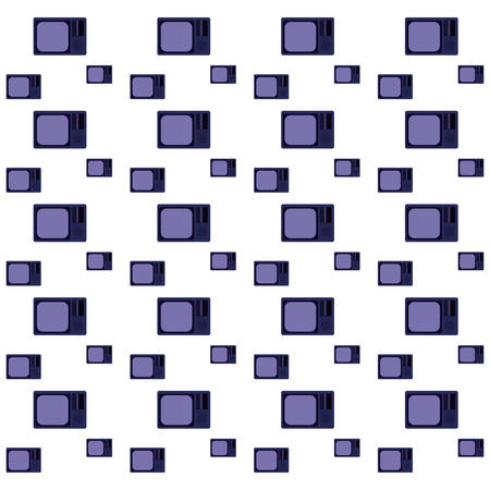 video game purple televisions background vector illustration