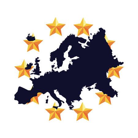 european union copyright of intellectual vector illustration Stock Vector - 116183812