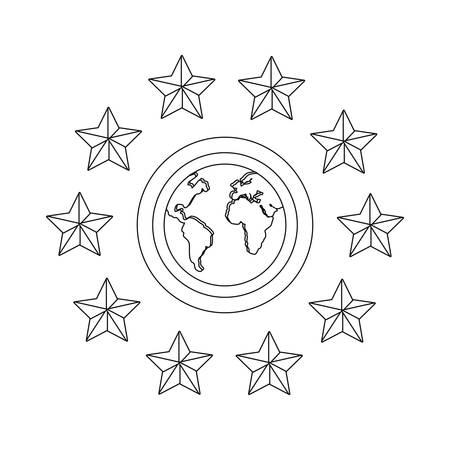 world property copyright of intellectual vector illustration Illustration