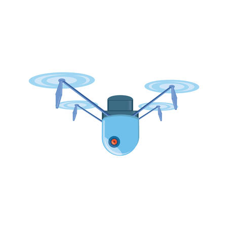 drone technology flying icon vector illustration design