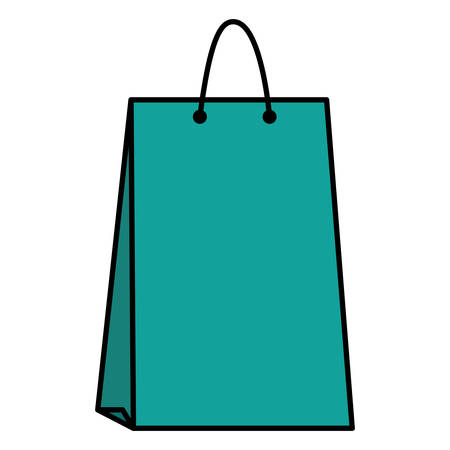 shopping bag isolated icon vector illustration design Stock Vector - 124841460