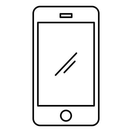 smartphone device electronic icon vector illustration design Ilustrace