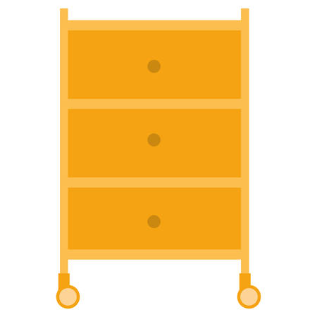 mechanic workshop drawer icon vector illustration design Illustration