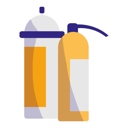 extinguisher fire equipment icon vector illustration design Illustration