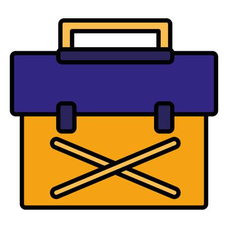 tools box mechanic icon vector illustration design