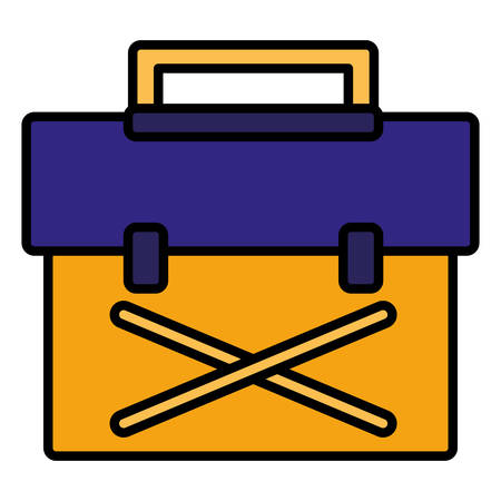 tools box mechanic icon vector illustration design
