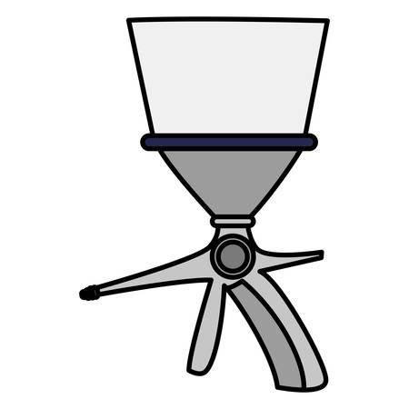extinguisher valve handle icon vector illustration design Stock Illustratie