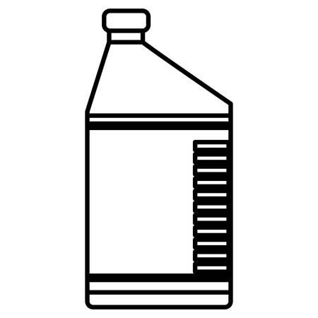 oil gallon engine icon vector illustration design