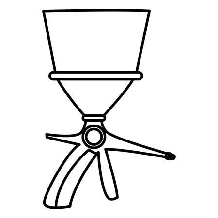extinguisher valve handle icon vector illustration design Иллюстрация