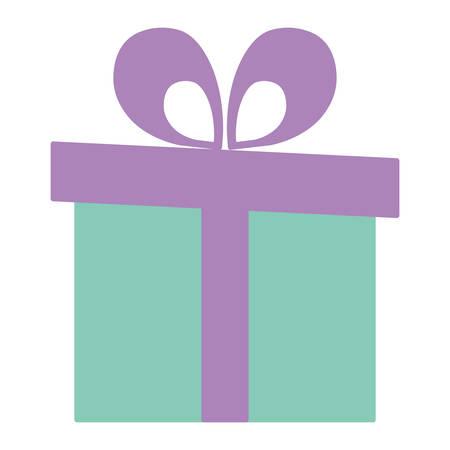 gift box present icon vector illustration design Фото со стока - 124725566