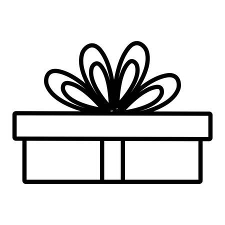 gift box present icon vector illustration design Фото со стока - 124725647