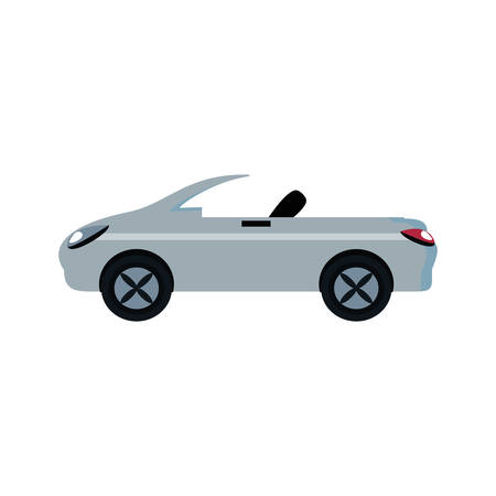 car convertible isolated icon vector illustration design Illustration
