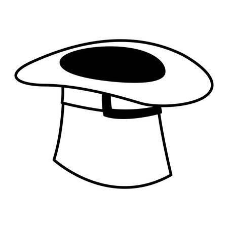 lemprechaun tophat saint patricks icon vector illustration design