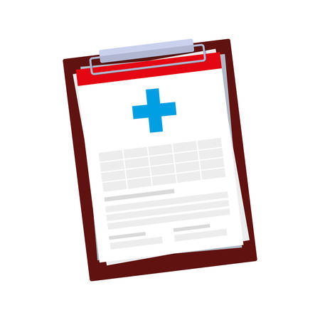 medical order checklist icon vector illustration design 일러스트