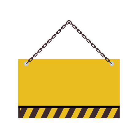 signaling hanging isolated icon vector illustration design Ilustração