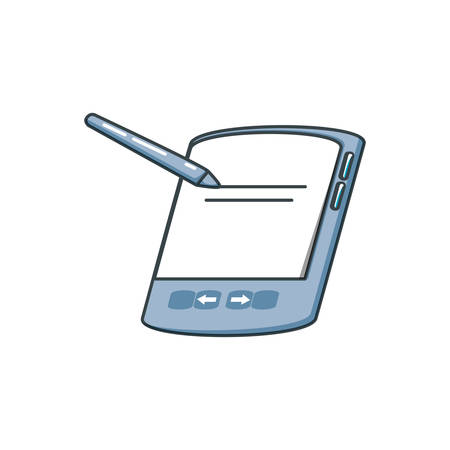 graphic tablet isolated icon vector illustration design
