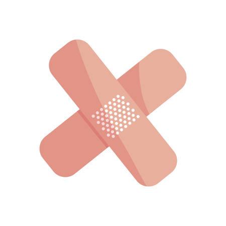 cure bandage medical icons vector illustration design Standard-Bild - 121041282