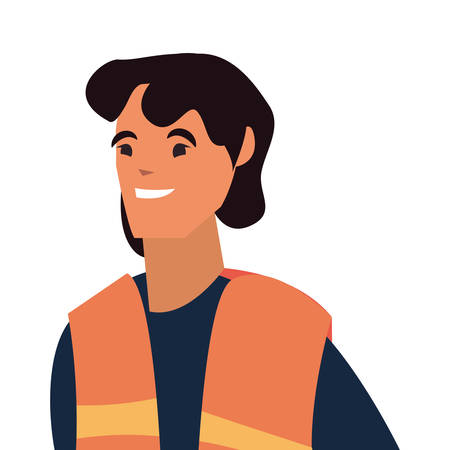 worker employee profession labour day vector illustration Illustration