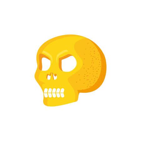head skull isolated icon vector illustration design