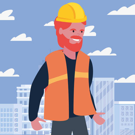 worker employee profession labour day vector illustration 矢量图像