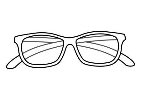 eyeglasses accessory isolated icon vector illustration design 일러스트