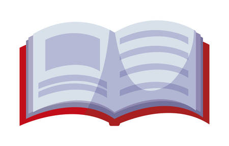 text book isolated icon vector illustration design Stock Illustratie