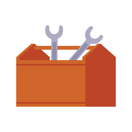 toolbox handle isolated icon vector illustration design