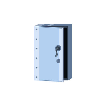 safe box security isolated icon vector illustration design