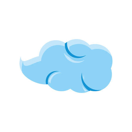 cloud natural isolated icon vector illustration design