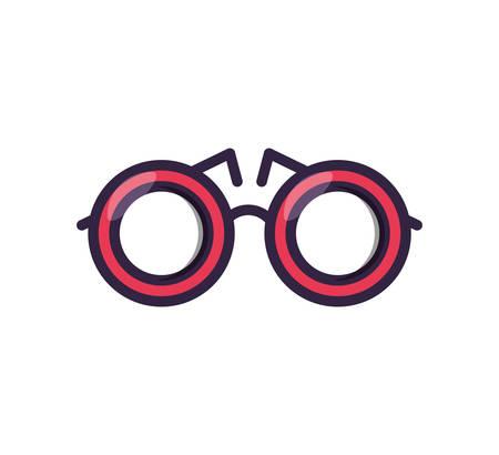 optical eyeglasses isolated icon vector illustration design Иллюстрация