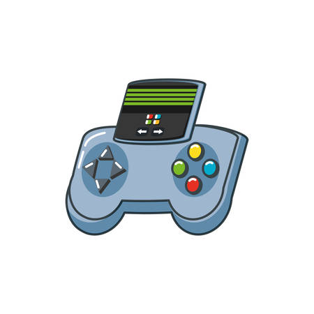 video game handle isolated icon vector illustration design Ilustração