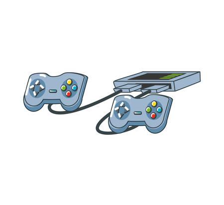 video game console icon vector illustration design Foto de archivo - 122528584