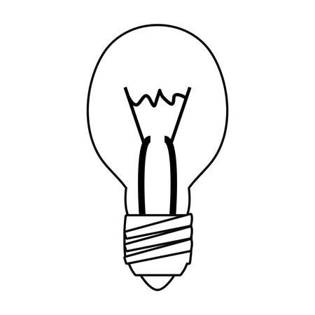 light bulb tool vector illustration design image