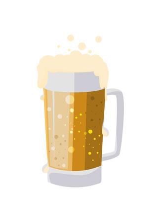 beer jar drink icon vector illustration design Ilustração