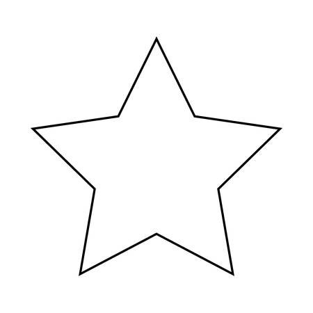 winning star isolated icon vector illustration design