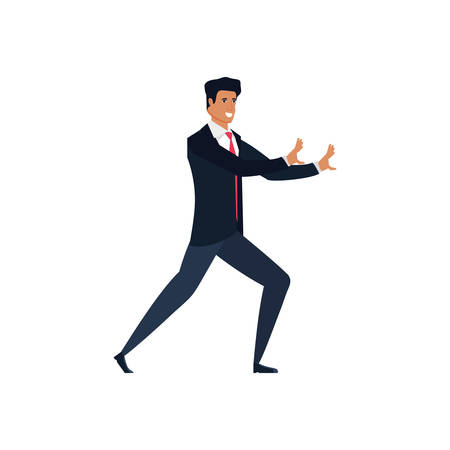 businessman elegant avatar character vector illustration design 일러스트