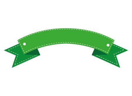 ribbon frame isolated icon vector illustration design