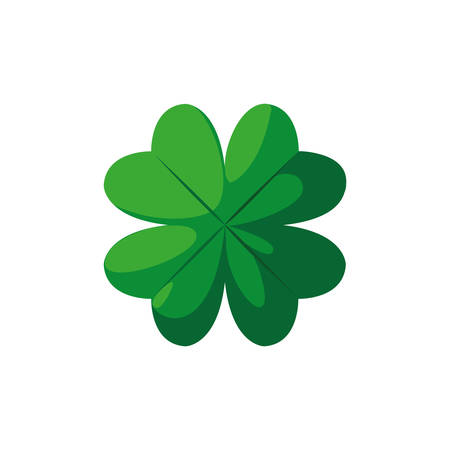 clover leaf saint patricks day vector illustration design