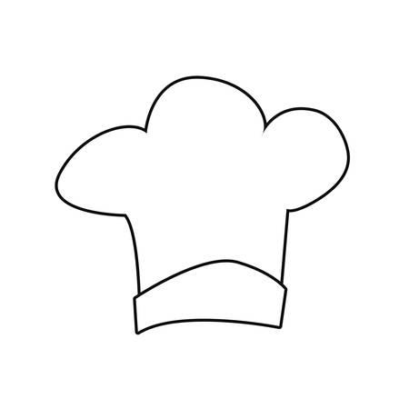 chef hat icon vector illustration design image