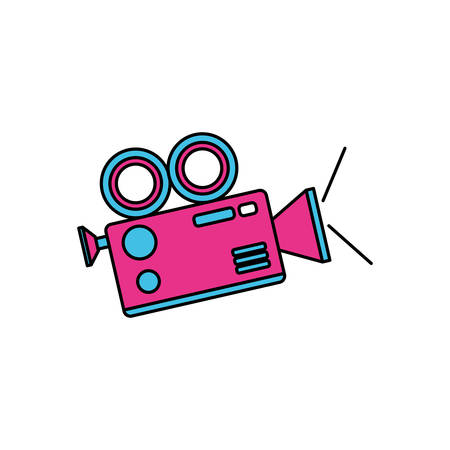 video camera app icon vector illustration design