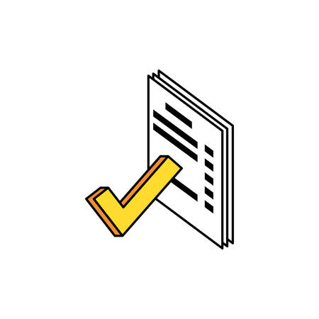 papers documents data icon vector illustration design