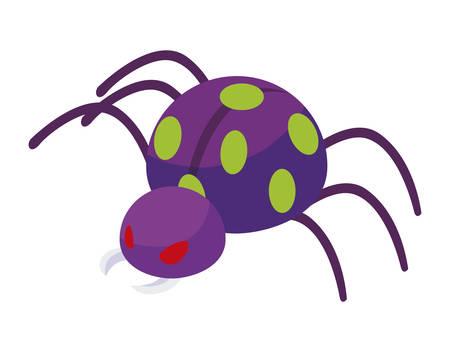 bug cyber attack icon vector illustration design